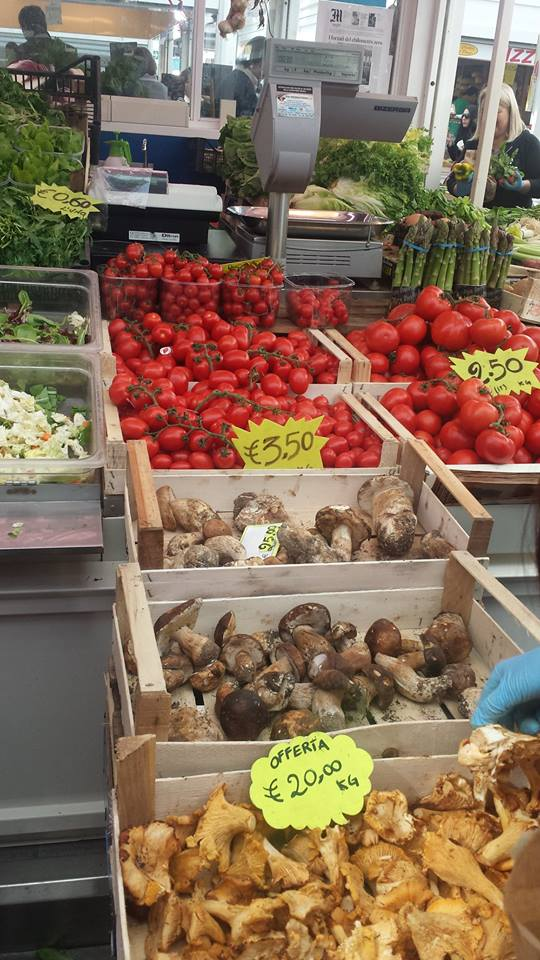 The Testaccio Marketplace - several generations of stall owners selling the freshest produce.